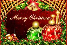 A Christmas E-Card from cousins' Tara,Randy,and Shaun Peardon,and a very beautiful one it is...