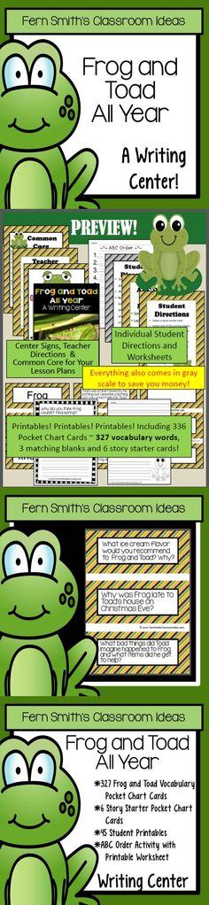 frog and toad together worksheets | fbopen