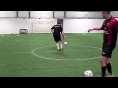 20 Fast Footwork Soccer Drills - 1000 Touches In 20 Minutes - YouTube
