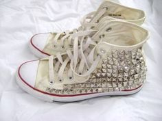 Studded cons. Yes please!
