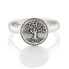 Collection & Stories | Bowerbird #treeoflife #ring #silver