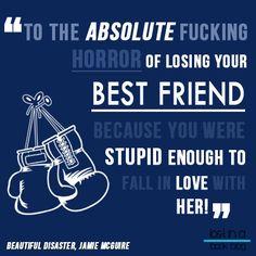 Travis Maddox - Beautiful Disaster, Jamie McGuire.
