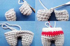 Амигуруми. Вязание крючком игрушки собачки в стиле амигуруми со схемами и описанием для начинающих