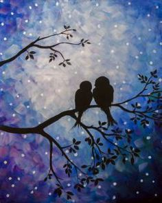 Going to be painting this with my hubby at Graffiti Paintbar - Uncork Your Inner Artist!