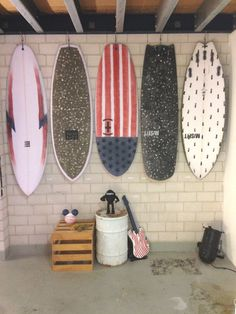 Awesome idea for board storage
