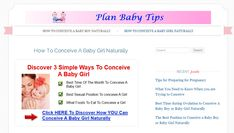 Discover How To Conceive A Baby Boy Or Baby Girl Naturally With 3 Simple Tricks!