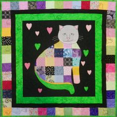 Cat Patches: 2013 March doll quilt swap