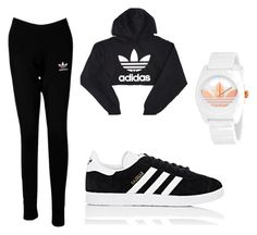"""""""All Adidas"""" by kaitlynspaid on Polyvore featuring adidas"""