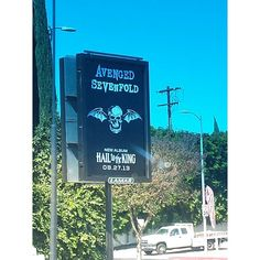 avenged sevenfold, a7x, hail to the king promo