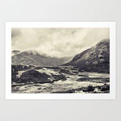 Mono Toned Lake District Art Print by jphoto - $16.64