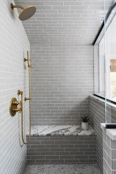 Bathroom Tile: Ideas to Consider When Tiling Your… | Fireclay Tile White Bathroom Tiles, Bathroom Floor Tiles, Shower Niche, Shower Floor, Outdoor Wall Fountains, Interior Cladding, Fireclay Tile, Glass Mosaic Tiles, Tile Design