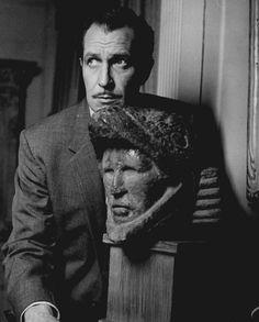 Vincent Price in 'The Tingler', 1959.