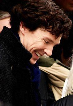 Benedict Cumberbatch at His Best i adore his smile!! it makes me so happy…