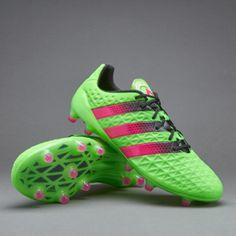 adidas ACE 16.1 FG/AG - Solar Green/Shock Pink/Core Black