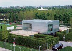Project - Haus der Gegenwart - Architizer