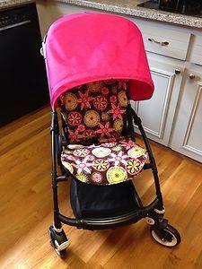 Bugaboo Bee Hot Pink Canopy And Custom Liner NWOT & Bugaboo Bee Stroller Liner | Kids | Pinterest | Bugaboo bee ...