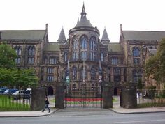 University of Glasgow..What an amazing building .