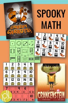 Spooky Guided Math! Here's what we're up to in our small math groups for Halloween. From Positively Learning Blog #guidedmath #mathcenters #halloween