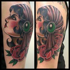 tattoo gypsy traditional - Google Search