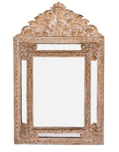 Sale Multi-Tier European Reppousse Brass Mirror in 4835 W Jefferson Blvd, Los Angeles, CA 90016, USA ~ Apartment Therapy Classifieds