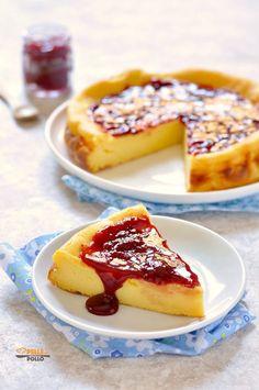 Ricotta, No Bake Desserts, Dessert Recipes, Greek Yogurt Cake, My Favorite Food, Favorite Recipes, Chocolate Oreo Cake, Confort Food, Cake & Co