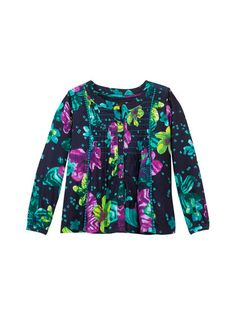 Floral Ethnique Blouse by Catimini at Gilt