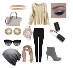 """""""Ootd"""" by rachelrheintgen on Polyvore featuring Giorgio Armani, Chanel, Ted Baker, Kendra Scott, Elizabeth and James, Sigma Beauty, women's clothing, women's fashion, women and female"""