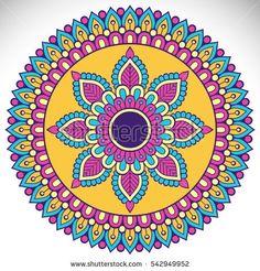 Ornament beautiful card with mandala Mandala Doodle, Mandala Art Lesson, Mandala Drawing, Mandala Painting, Doodle Art, Hamsa Art, Sacred Geometry Art, Dot Art Painting, Mandala Coloring Pages