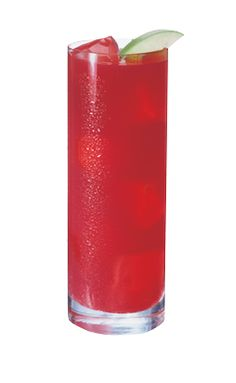 WHATS INSIDE: 1.5 oz.Smirnoff Green Apple  3 oz. cranberry juice HOW TO MIX IT: Fill glass with ice Add Smirnoff Green Apple Flavored Vodka and cranberry juice Stir well