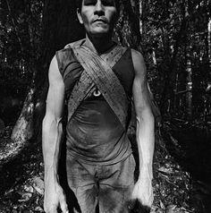 Manoel Raimundo Santos (Alemão), castanhal Fé em Deus brazil-nut forest reserve, River Iratapuru, AP, 2011 by Edu Simões