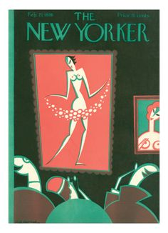 THE NEW YORKER COVER - FEBRUARY 27, 1926  By H.O. Hofman // seems appropriate following my #pinup post