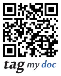 http://www.tagmydoc.com/ is a website where you upload a PDF, Office Document, or image and it will host that file and make a QR code so others can download it. In just a few steps, your file is online and accessibly through the code TagMyDoc.com provides.
