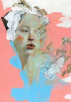Greta Kotz (USA) - No.5, 2012    Paintings: Acrylics on Canvas
