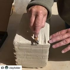 Pottery Tools, Slab Pottery, Pottery Mugs, Ceramic Pottery, Clay Extruder, Pottery Studio, Porcelain, Smooth, Videos