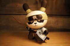 Samurai panda dunny! I want!