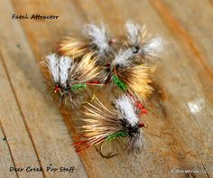 Tying the Fatal Attractor Fly                                                                                                                                                                                 More