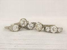 antique & vintage engagement rings
