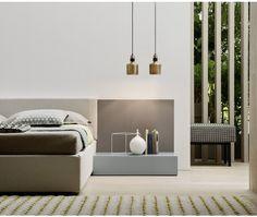 Novamobili Nachttisch Easy 1 Schublade - Interior Design