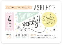 Details Details Children's Birthday Party Invitations