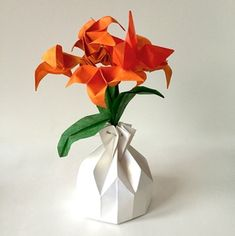 62 best small origami flower arrangements images on pinterest perfect origami arrangement for a party table available in shop on website mightylinksfo