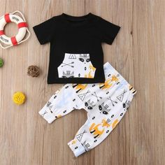 2018 Infant Kids Baby Boy Outfit Sets Shirt T-shirt Tops Long Pants Clothesdresskily 2018 Kleinkind Kinder Jungen Outfit Sets Shirt T-Shirt Tops Lange Hosen Clothesdresskily Outfits Niños, Baby Boy Outfits, Kids Outfits, Newborn Outfits, Baby Girl Pants, Baby Boy Shoes, Pants Outfit, Outfit Sets, Baby Boy Fashion
