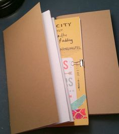≡ DIY: How to make Midori Travelers Notebook inserts