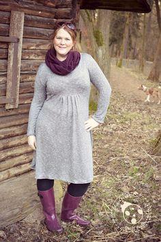 *Eine heimliche Liebe* - Glückpunkt - Stoff für Deine Ideen   Nähen - eBook - Kleid - Shirt - Romy Nähwerk - Damen - Feinstrick