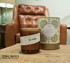 Easy ways to breathe new life into your home this fall. Change up your scent! We love this leather mahogany Kobo candle.