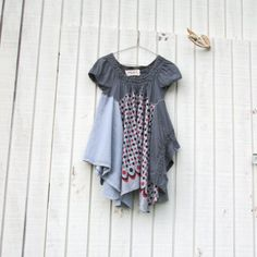 xsmall  small  romantic Upcycled clothing / Patchwork by CreoleSha, $94.00