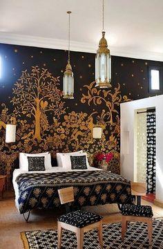 decoracion sofa cama hindu - Buscar con Google