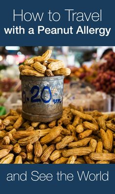 Peanut allergy and world travel. Flying with a peanut allergy. Advice from a family that spent 13 months traveling around the world months in Asia) with a life-threatening peanut allergy. Tree Nut Allergy, Peanut Allergy, Nut Free, Dairy Free, Vietnam, Kids Allergies, Food Photography Tips, Allergy Free, A Food