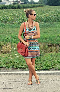 Tribal Print Dresses