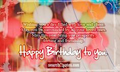 birthday wishes for lovers images http://www.wishesquotez.com/2016/05/top-98-images-happy-birthday-wishes-and-quotes-for-the-loves-ones.html
