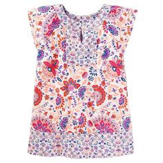 Toddler Girl OshKosh B'gosh® Floral Tunic, Size: 2T, Ovrfl Oth